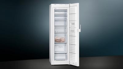 iQ300, Congélateur pose-libre, 186 x 60 cm, Blanc GS36NCWEV
