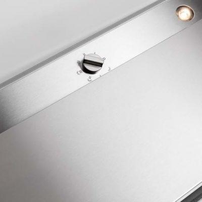 661 telescopic glass stainless steel 60cm detail