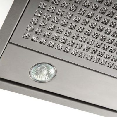 828 Canopy Basic Stainless Steel 60cm Detail01