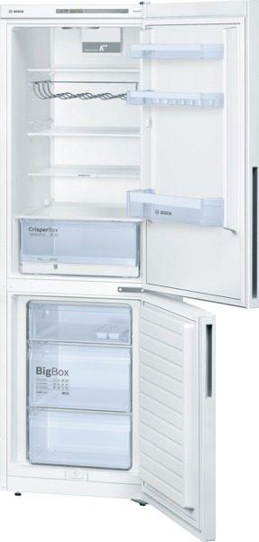 Lowfrost a++ - 309 (215+94) -éclairage  led - 39db - 186 x  Réfrigérateur/Congél. BOSCH KGV36VW32S blanc
