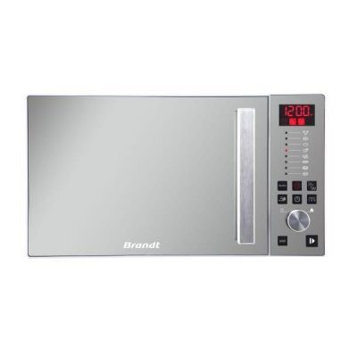 26 l   puissance micro-ondes : 900 watts - cavité inox -  Micro-ondes BRANDT CE2646W blanc