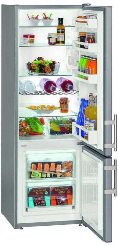 A++ - 263l (210+53) - l55cm - h161cm - silver - congélateur  Réfrigérateur/Congél. LIEBHERR CUSL280 blanc/silver