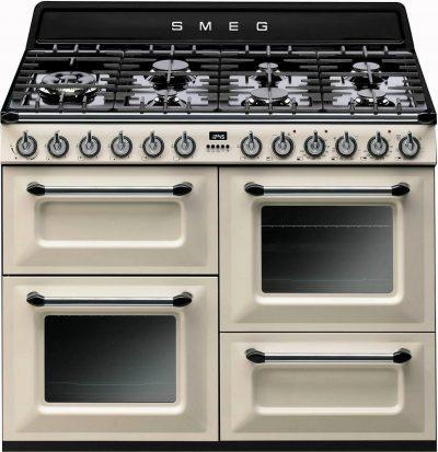 Piano de cuisson professional deluxe 110 mixte - largeur  Piano de cuisson SMEG TR4110P1