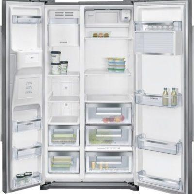 Side by side coolduo avec hyperfresh plus ◄0°c►  Réfrigérateur/Congél. SIEMENS KA90DAI30