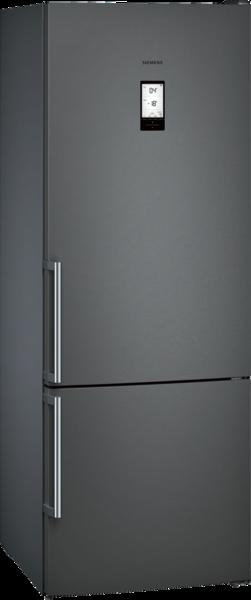 Iq500 - - 505 l ( 405 +100 l) a++ le  Réfrigérateur/Congél. SIEMENS KG56NHX3P noir