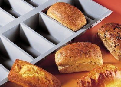 Moule cake anti-adhésif 6 portions - cuisson au four et la  Pâtisserie DE BUYER 1831-21D