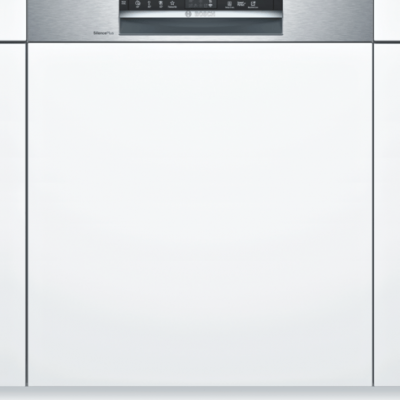Série 6, Lave-vaisselle intégrable avec bandeau, 60 cm, Metallic