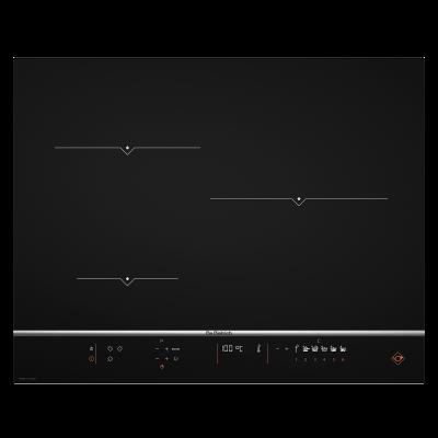 table de cuisson avec sonde intégrée, noire Dpi7570xt