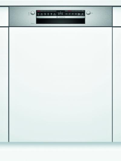 Série 4, Lave-vaisselle intégrable avec bandeau, 60 cm, Metallic SMI4HTS31E