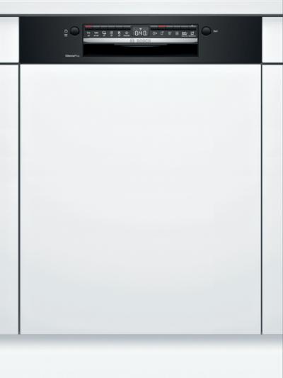 Série 4, Lave-vaisselle intégrable avec bandeau, 60 cm, Noir SMI4HAB48E