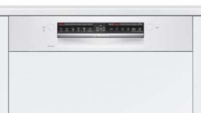 Série 4, Lave-vaisselle intégrable avec bandeau, 60 cm, Blanc SMI4HTW31E