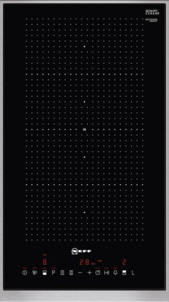 N 70, Table de cuisson Flex Induction, 30 cm, Noir N53TD40N0