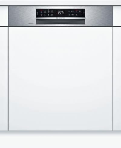 Série 6, Lave-vaisselle intégrable avec bandeau, 60 cm, Metallic SMI6ECS93E