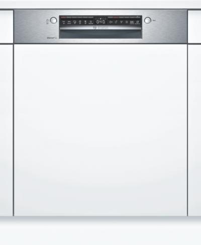 Série 4, Lave-vaisselle intégrable avec bandeau, 60 cm, Metallic SMI4HAS48E