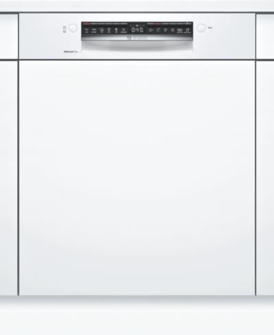 Série 4, Lave-vaisselle intégrable avec bandeau, 60 cm, Blanc SMI4HAW48E