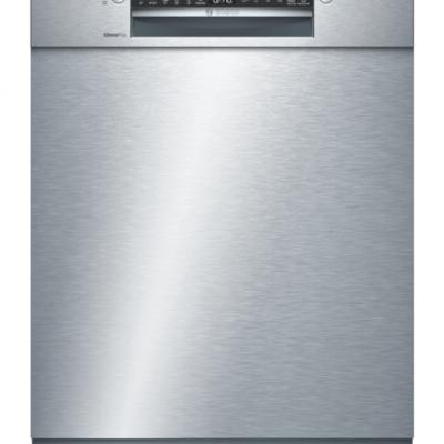 Série 4, Lave-vaisselle sous plan, 60 cm, Metallic SMU4HCS48E