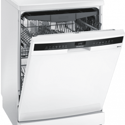 iQ300, Lave-vaisselle pose-libre, 60 cm, Blanc SN23EW14CE