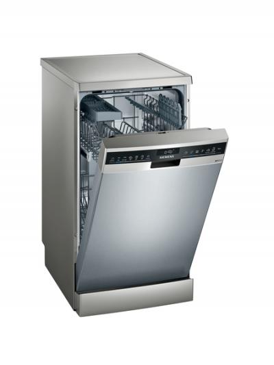 iQ300, Lave-vaisselle pose-libre, 45 cm, Inox SR23HI48KE