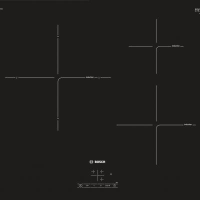 Série 4 Table à induction60 cm Noir PUJ611BB1E