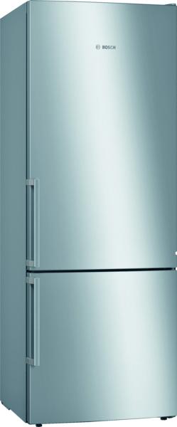 Série 6, Réfrigérateur combiné pose-libre, 191 x 70 cm, Inox anti trace de doigts KGE58AICP