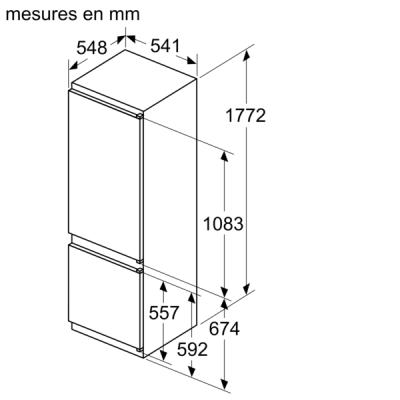 13306142 KIV87VSE0 Standard Line Drawing fr FR