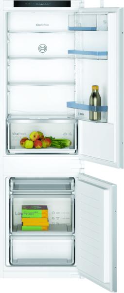 Le réfrigérateur combiné avec VitaFresh pour garder vos denrées encore plus longtemps.