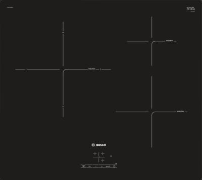 Série 4, Table à induction, 60 cm, Noir PIJ611BB1E