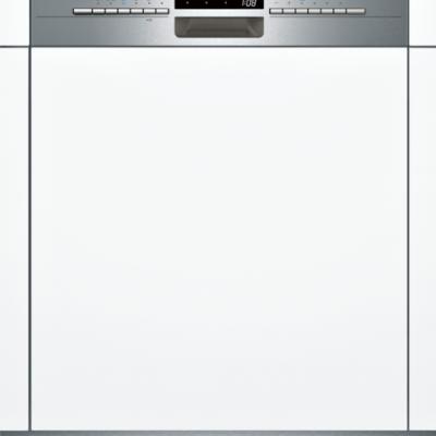 iQ300, Lave-vaisselle intégrable avec bandeau, 60 cm, Metallic SN536S02IE