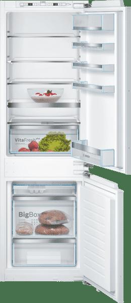 Le réfrigérateur combiné avec VitaFresh plus : garde vos fruits et légumes frais jusqu'à deux fois plus longtemps.