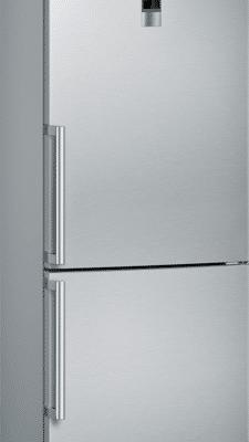 Combiné noFrost avec compartiments hyperFresh pour conserver vos aliments plus longtemps, et en finir avec le dégivrage