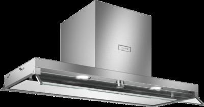 N 70, Hotte design intégré, 90 cm, verre blanc D94XAF8N0