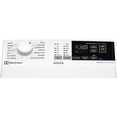 Lave linge top ELECTROLUX EW6T3164AA band