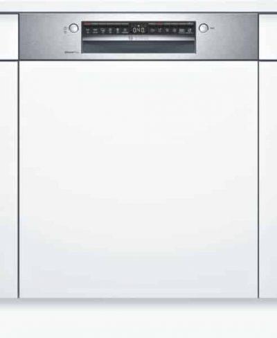 Série 4 Lave-vaisselle intégrable avec bandeau60 cm Metallic SMI4HCS48E