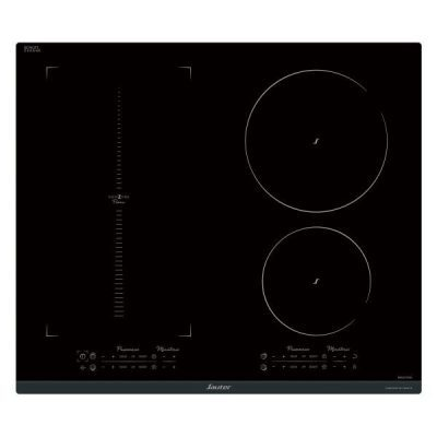 Table de cuisson induction horizone 4 foyers Sauter SPI9648BP