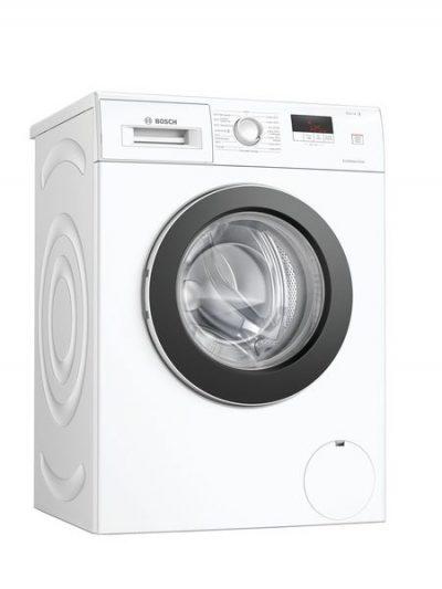 Lave-linge avec moteur à induction EcoSilence Drive, silencieux et fiable, et gestion de l'eau ActiveWater : des consommations d'énergie et d'eau adaptées à la charge de linge.