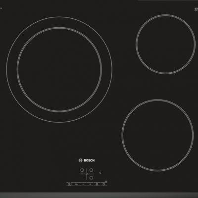 La plaque de cuisson radiante en vitrocéramique : elle facilite la cuisson et le nettoyage.