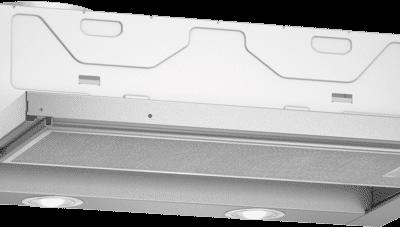 N 30, Hotte télescopique, 60 cm, Argent métallisé D46BR12X5